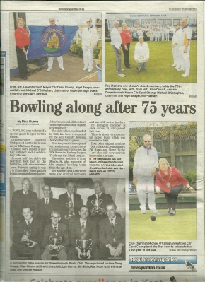 Bowling along after 75 years