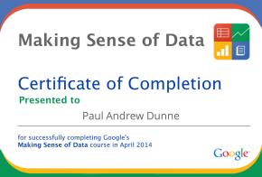 Making Sense of Data